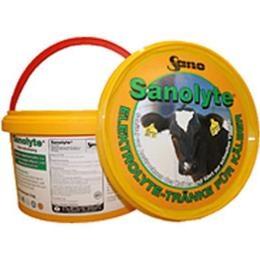 Sanolyte® Produktbild - Elektrolyte bei Kälberdurchfall | Sano