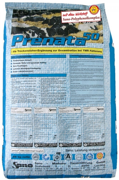 Prenata 50 - TMR für Trockensteher | Sano