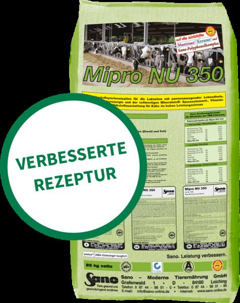 Mipro NU 350® Sackbild - Mineralfutter-Komplettlösung für Kühe bei grasbetonter Teil-TMR | Sano