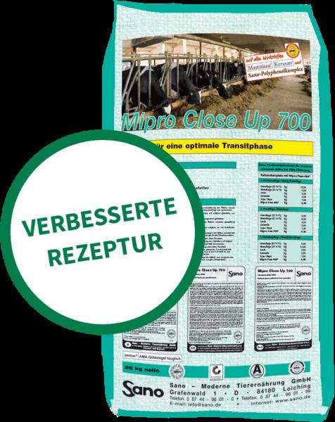 Mipro® Close Up 700 Sackbild - Futtermittel für Milchkühe in der Transitphase zum Laktationsstart   Sano