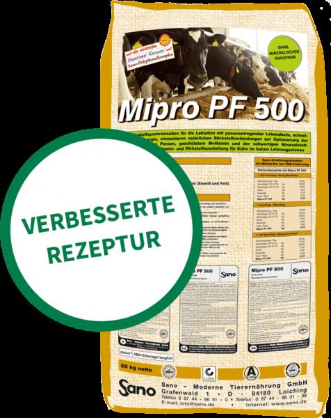 Mipro PF 500® Sackbild - Phosphorfreie Mineralfutter-Komplettlösung für Milchkühe | Sano