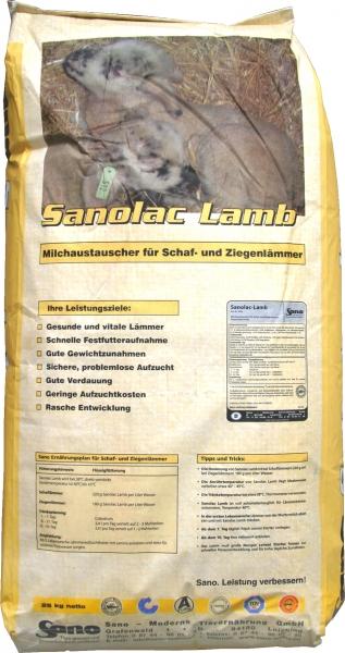 Sanolac® Lamb Sackbild - Milch für Schaf- und Ziegenlämmer | Sano