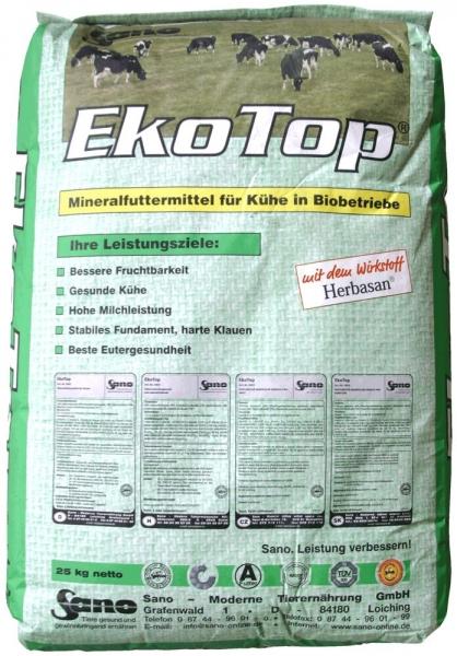 EkoTop® - Mineralfutter für Biobetriebe