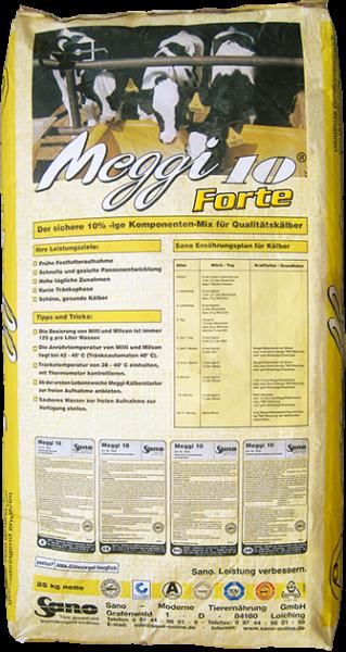 Meggi® 10 Forte Sackbild - Konzentrat für hofeigene Kälberstarter und Trocken-TMR | Sano