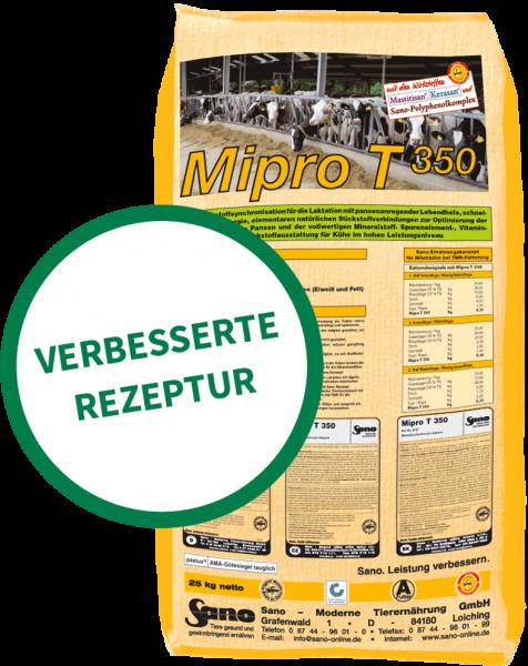 Mipro T 350® Sackbild - Mineralfutter-Komplettlösung für Kühe bei Teil-TMR | Sano
