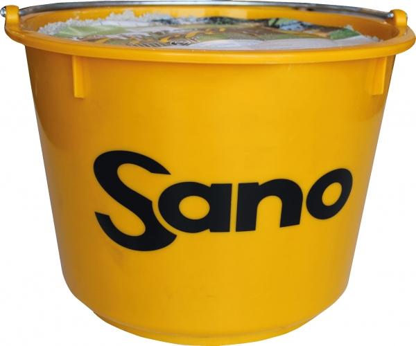 Leckeimer Basic Produktbild - Leckmasse für Rinder auf Bio- und Weidebetrieben (ohne Vitamine) | Sano