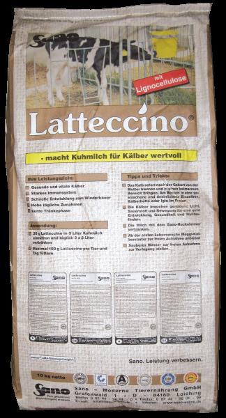 Latteccino® Sackbild - Vollmilchaufwerter für gesunde Kälber | Sano
