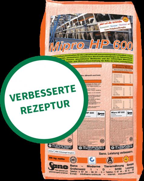 Mipro HP 600® Sackbild - Mineralfutter-Komplettlösung für Kühe bei Voll-TMR, für Pansenmikroben   Sano